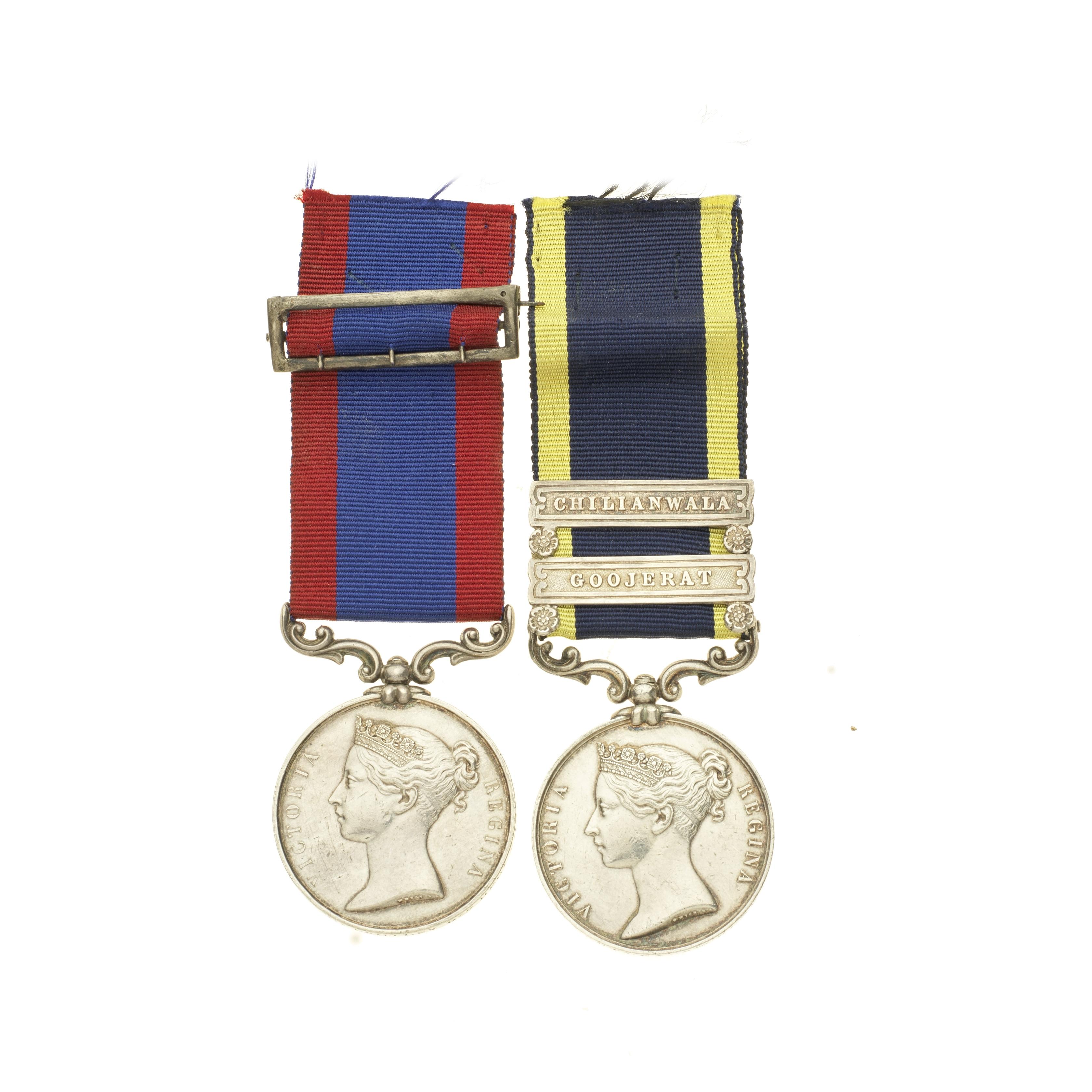 Pair to Major General G.Cautley, 5th European Light Cavalry, 8th Bengal Cavalry,