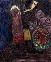 Bertina Lopes (Mozambican, 1924-2012) Io so mistero che madre sofri (I know the mystery that moth...