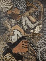 Uzo Egonu (Nigerian, 1931-1996) Dancers