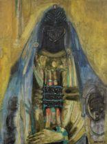 Ibou Diouf (Senegalese, 1941-2017) Portrait de Mère
