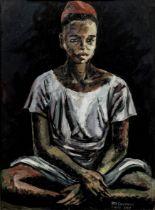 Benedict Chukwukadibia Enwonwu M.B.E (Nigerian, 1917-1994) Hausa Boy