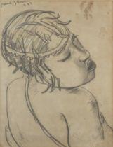 Irma Stern (South African, 1894-1966) Swazi Girl