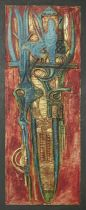Bruce Onobrakpeya (Nigerian, born 1932) Sahelian Masquerade