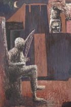 Jimoh Bola Akolo (Nigerian, born 1934) Bow Harp
