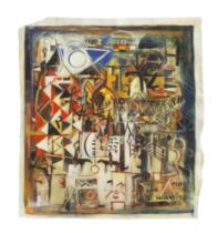Wosene Worke Kosrof (Ethiopian/American, born 1950) Untitled
