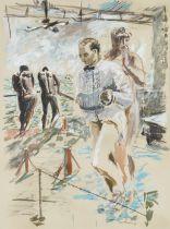 William Joseph Kentridge (South African, born 1955) Sophiatown at Civitavecchia