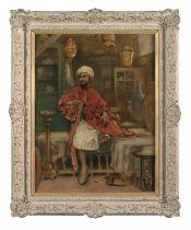 Maria Martinetti (Italian, 1864-1921) In the bazaar