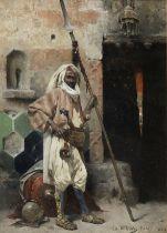 Charles Wilda (Austrian, 1854-1907) The Palace Guard