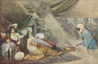 Gian Carlo Polidori (Italian, 1895-1962) In the harem