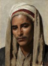 Franz Xavier Kosler (Austrian, 1864-1905) Portrait of a young man