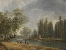Simon-Joseph-Alexandre Clement Denis (Belgian, 1755-1812) A Turkish capriccio
