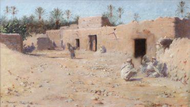 Charles James Theriat (American, 1860-1937) El Kantara
