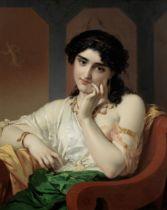Pierre Olivier Joseph Coomans (Belgian, 1816-1889) Contemplations