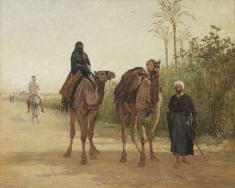 Heywood Hardy (British, 1842-1933) The Travellers