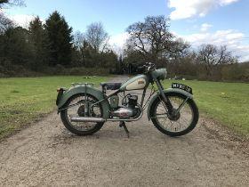 1953 BSA 125cc Bantam Frame no. BD2S 969 Engine no. BD2560