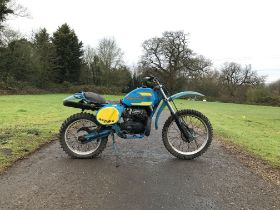 Bultaco 250cc Frame no. PB-21401634 Engine no. PM-21401634