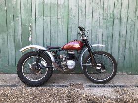 c.1948 Norman Trials Frame no. AB2S6360 Engine no. 859B3843