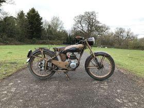 c.1953 Moto Confort 125cc C45S Frame no. 635312 Engine no. 633745