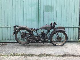 1929 BSA 2 1/4hp 15-29 Deluxe Frame no. B47515 Engine no. B44809.W
