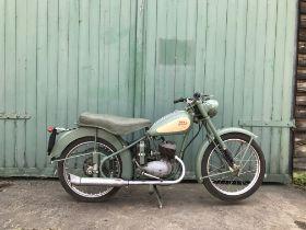 1955 BSA 125cc Bantam Frame no. 46760 Engine no. DDB2053