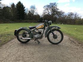 c.1952 BSA 125cc Bantam Frame no. YD172807 Engine no. 70198YD
