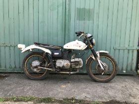 c.1970 Harley-Davidson Aermacchi SS350 Frame no. *6A13572HO* Engine no. none visible