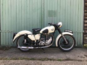 c.1951 AJS 350cc Model 16 Frame no. 65257 Engine no. 51 16MS 14126