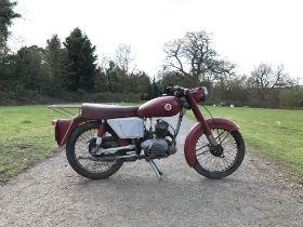 1961 Excelsior 150cc Frame no. U10/553 Engine no. D51D2003