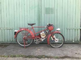 Derny Cyclemotor Frame no. none visible Engine no. 368841