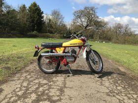 1974 Gilera 50cc Trial 5V Frame no. *034*1611X Engine no. *019* 31534*