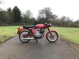 c.1967 Moto Guzzi 125cc Stornello Frame no. T*07BC*10M22780M Engine no. T*07BC*