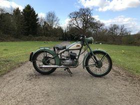 c.1951 BSA 125cc Bantam Frame no. YD778SS Engine no. BDBY27600