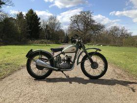 c.1951 BSA 125cc Bantam Frame no. 30417 Engine no. 73495YD