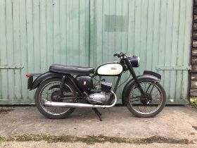 1959 BSA 175cc Bantam Super Frame no. D72369 Engine no. ED7B24627