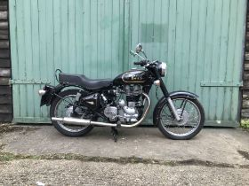 2008 Royal Enfield 500cc Bullet Frame no. ME3BBBSB47C020566 Engine no. 7BS520566F