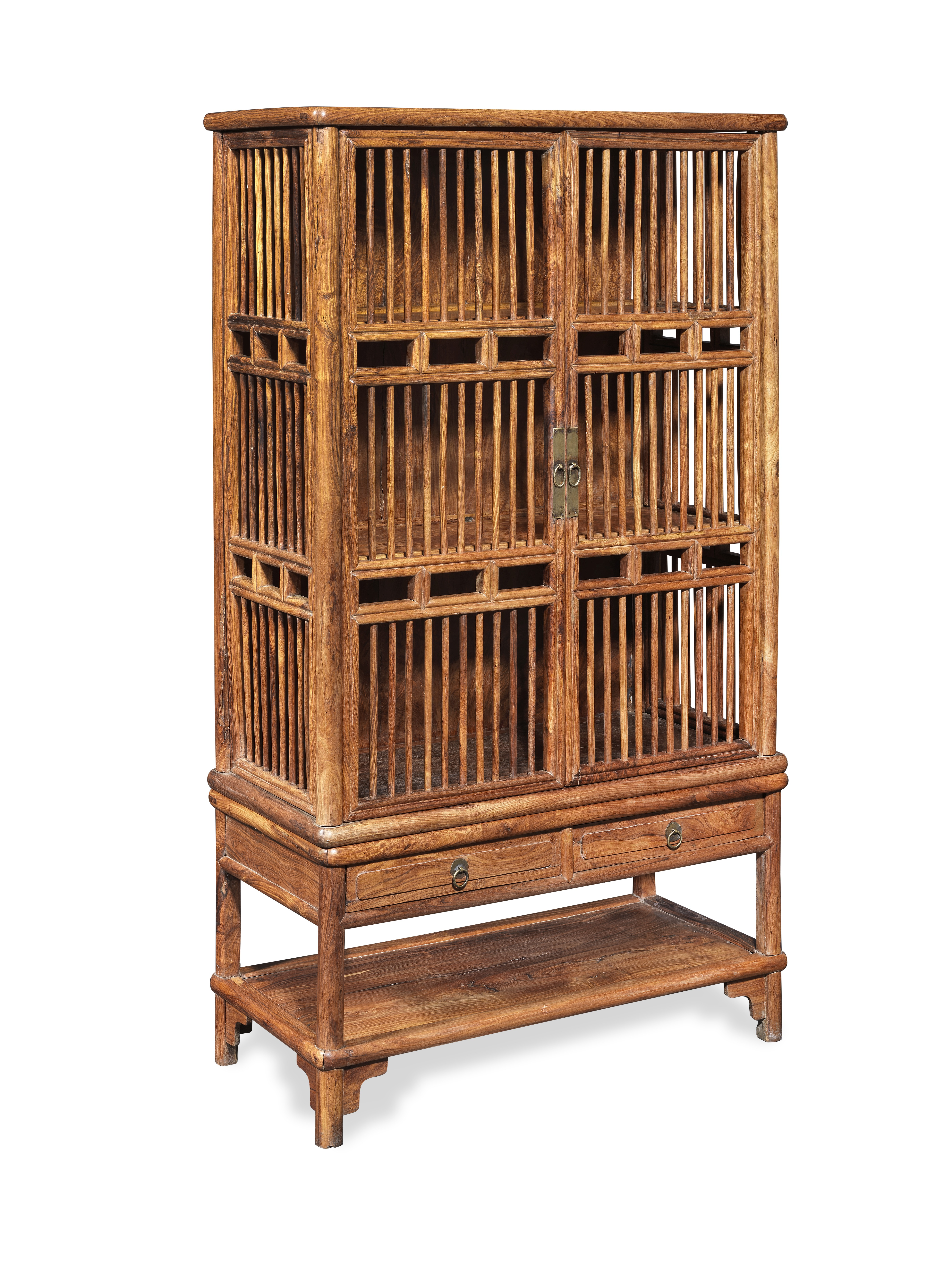 A HUALI TWO-PART CABINET (2)