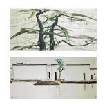 AFTER WU GUANZHONG (1919 - 2010) 'The Swallow' and 'The Pine Tree' (2)