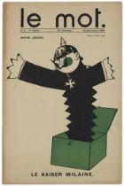 JEAN COCTEAU (1889-1963) Le Mot, Paul Iribe éditeur, 1914-1915 portfolio