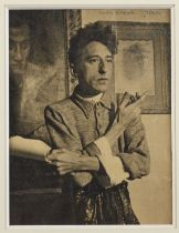 DIVERS ARTISTES Collection de cinq portraits de Jean Cocteau (5) (three signed and annotated by ...