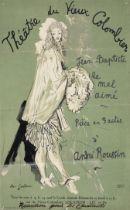 JEAN COCTEAU (1889-1963) Théâtre du Vieux Colombier, Jean-Baptiste le mal aimé (Co...
