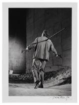 Lucien Clergue (1934-2014) Le Testament d'Orphée, les Baux de provence (Conçu en 1959 e...