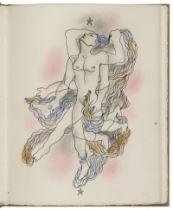 JEAN COCTEAU (1889-1963) Le livre Blanc. Paris, Éditions du Signe, 1930 portfolio (portfolio...
