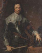 After Sir Anthony van Dyck, 19th Century Portrait of Prince Tommaso Francesco of Savoy-Carignano,...