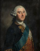 Circle of Jean-Baptiste van Loo (Aix-en-Provence 1684-1745) Portrait of Henry Fiennes Pelham-Clin...