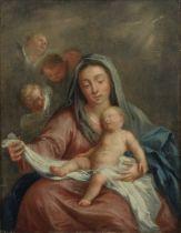 Circle of Abraham Bloemaert (Gorinchem 1566-1651 Utrecht) The Madonna and Child with Angels