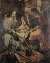 After Joos van Winghe, 17th Century The Nativity