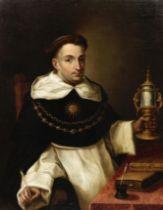 Studio of Bartolomé Esteban Murillo (Seville 1618-1682) Saint Thomas Aquinas