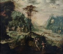 Attributed to Jan Soens, called il Fiammingo ('s-Hertogenbosch 1547-circa 1614 Parma) An extensiv...