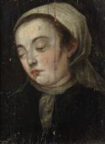 Flemish School, 17th Century Head of a lady