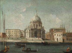 Attributed to Vincenzo Chilone (Venice 1768-1840) The Basilica of Sant Maria della Salute, Venice